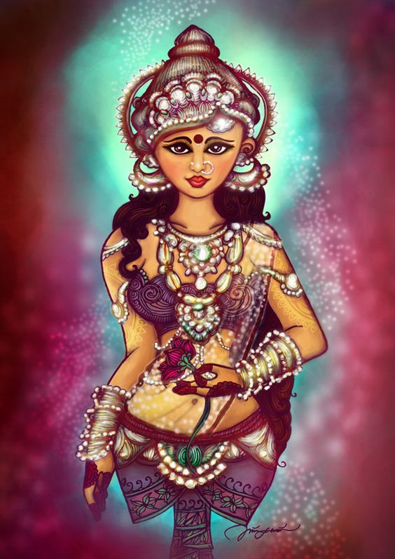 Devi. by Thineswari Govind, via Behance