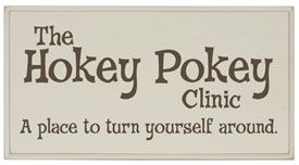 Maybe the Hokey Pokey really IS what it's all about!