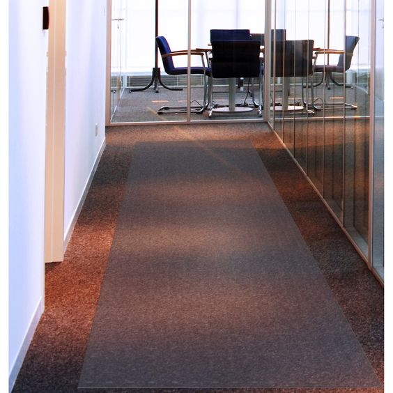 Floortex Long and Strong Floor Protector for Standard Pile Carpets