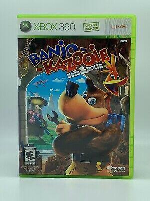 Banjo Kazooie Nuts Bolts Microsoft Xbox 360 2008 Includes