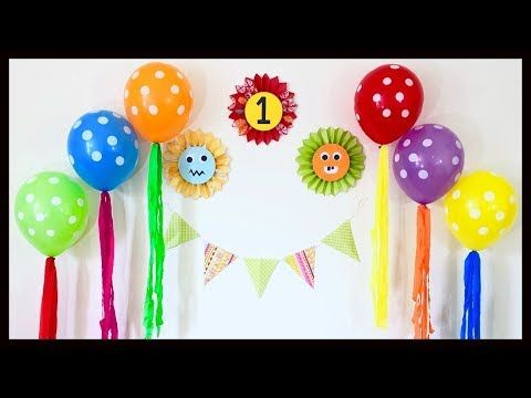 Very Easy Birthday Party Decoration At Home First Birthday Decoration Ideas Party Decoration Dekorasi Ulang Tahun Dekorasi Pesta Ulang Tahun Dekorasi Pesta