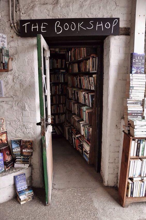 Let's open up a book shop