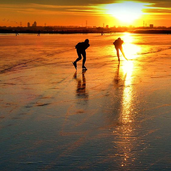 Many Dutch children learn how to skate on ice from a very young age. It is no surprise that the Netherlands is the worlds leading country when it comes to ice skating. The 2014 winter Olympics weren't a bad example, where they?
