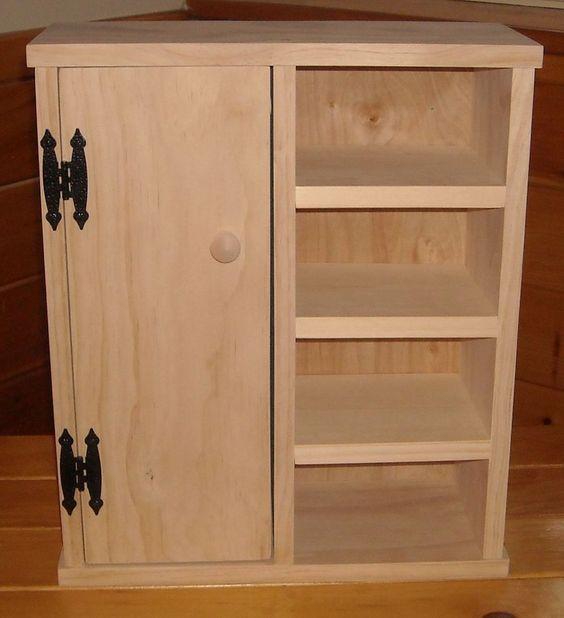 Unfinished Pine Furniture Unassembled