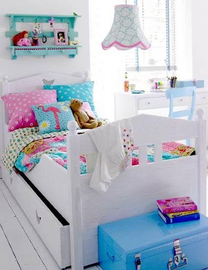 Habitaciones infantiles multicolor decoraci n - Habitaciones infantiles para nina ...