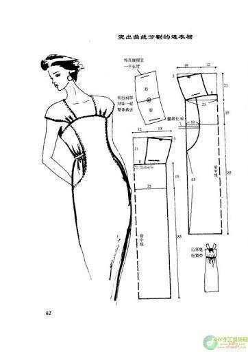 vestidos moldes - costurar com amigas - Picasa Webalbums
