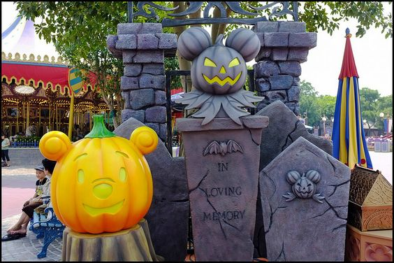 Hong Kong Disneyland Haunted Halloween