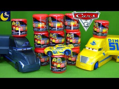 Disney Cars 3 Toys Dinoco Cruz Ramirez Jackson Storm Transforming