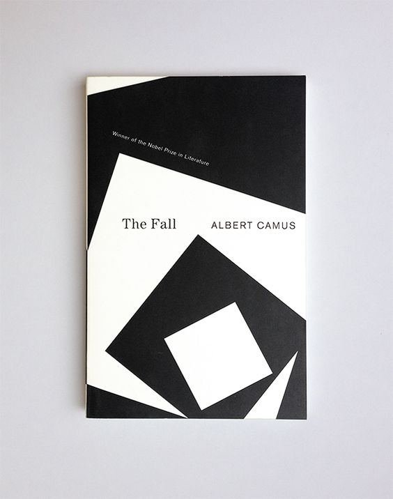 The Fall // Albert Camus / design Helen Yentus / publisher Vintage Books