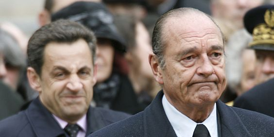 Chirac or Sarkozy mimics are quite extreme. Would not be atypique for some high-functioning Aspergers, and not necessarily the highest-functioning ones. (Elected to be the caricatural mirror of the political class).