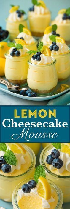 The BEST Easy Lemon Desserts and Treats Recipes – Perfect For Easter, Mother's Day Brunch, Bridal or