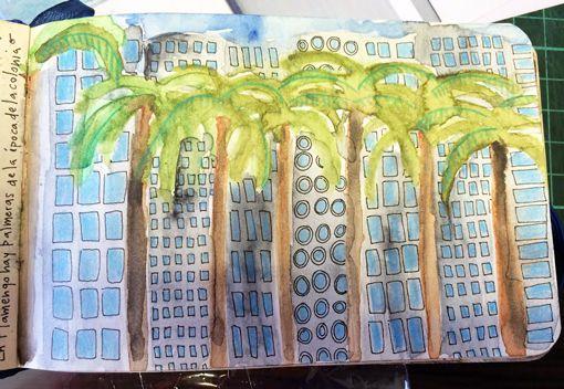 En Flamengo, hay palmeras plantadas en la época de la colonia, que son mas altas que los edificios, llegan al octavo piso...