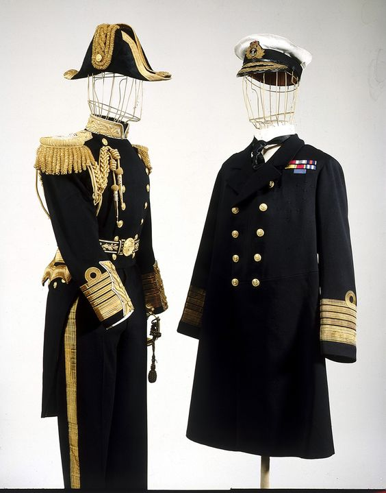 Royal Naval uniform: pattern 1901 (but this one was made in 1936).