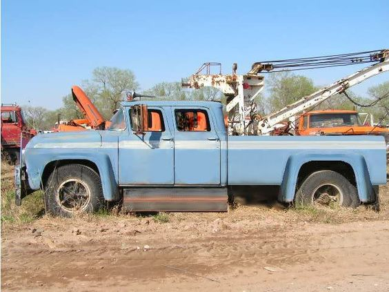 1958 Gmc Truck For Sale Craigslist >> 1960 Ford Crew Cab 4x4 For Sale.html | Autos Weblog