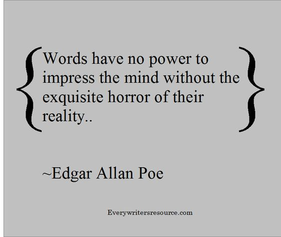 Edgar Allan Poe Quotes: Edgar Allan Poe Writing Quote