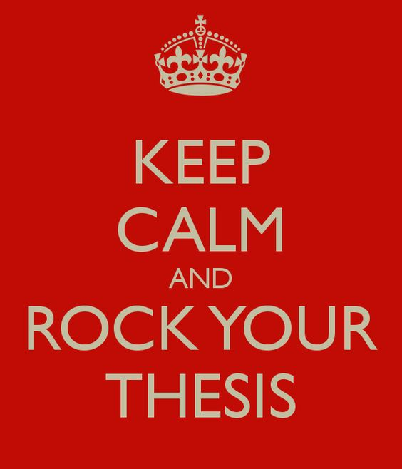 Dissertation advice by olin shivers