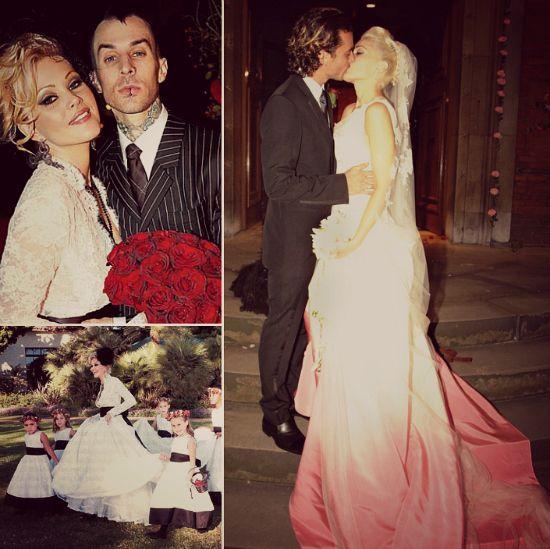 Travis Barker And Shanna Moakler M October 30 2004 2008 Celebrity Royal Weddings Pinterest