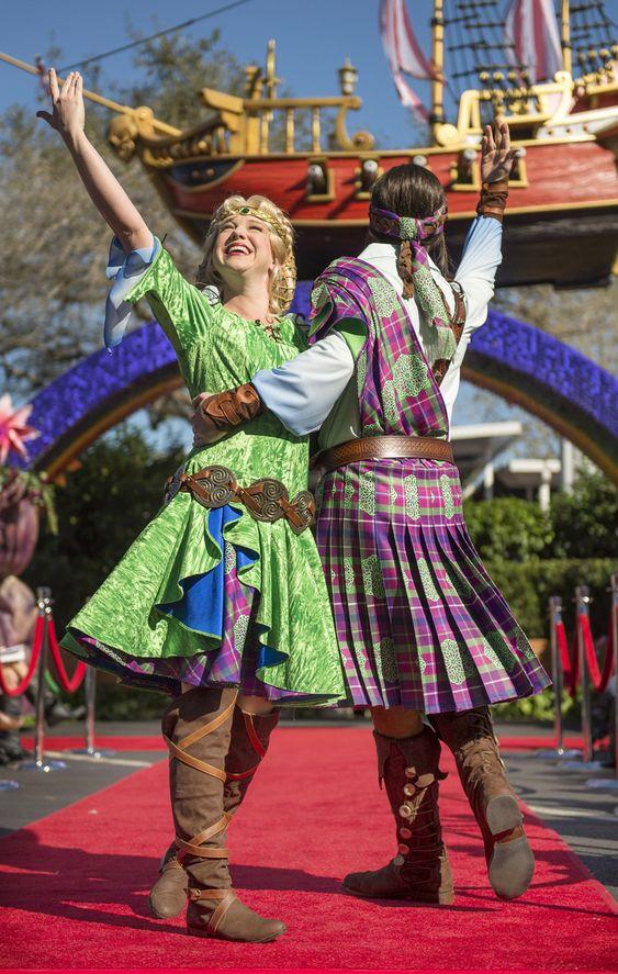 Disney Festival of Fantasy Parade at Magic Kingdom Park.