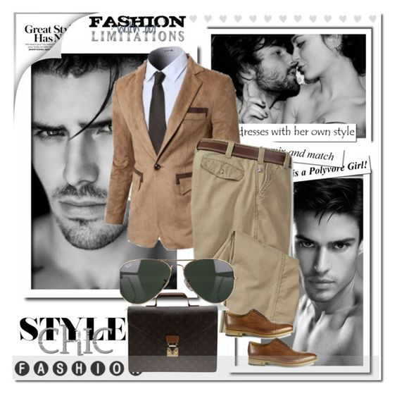 """""""Fashion Limitation !"""" by anne-977 ❤ liked on Polyvore featuring Doublju, Ray-Ban, Paul Smith and Louis Vuitton"""