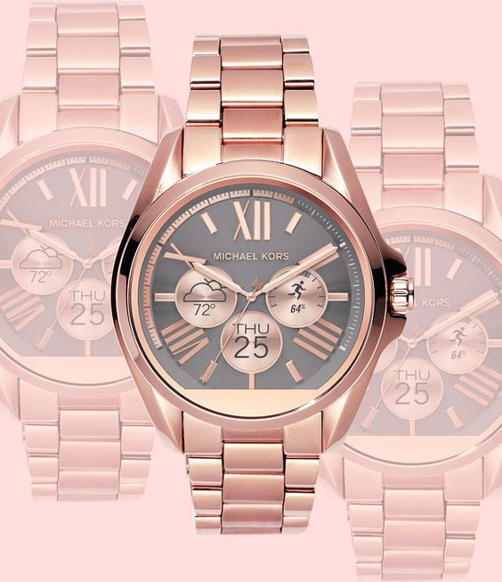 The Michael Kors Access Smartwatch May Just Be the Chicest Wearable We've Ever Seen