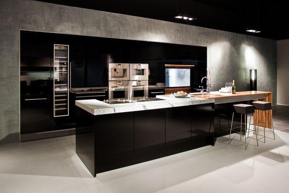luxe design keuken - Google zoeken  Ideeën voor het huis  Pinterest ...