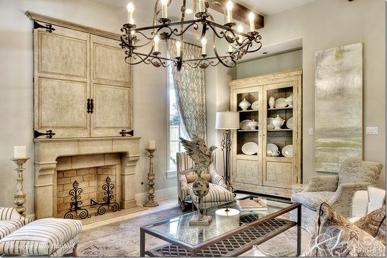 fireplace & media doors