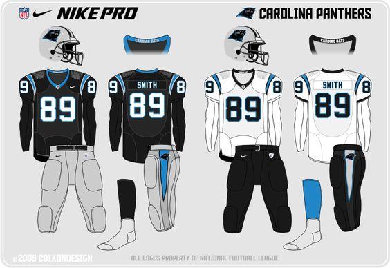 Carolina Panthers New Uniforms | Location: Foxborough, Massachusetts