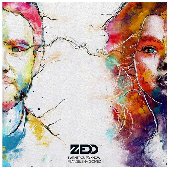 Zedd, Selena Gomez – I Want You to Know (single cover art)