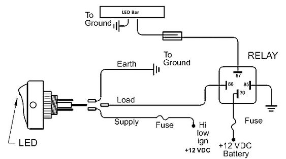 C5 Corvette Headlight Wiring Diagram