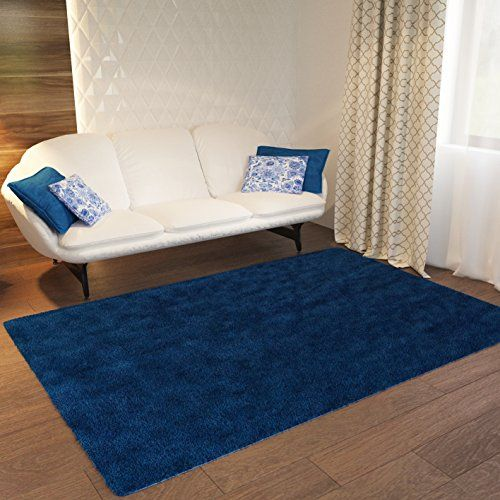 Bathroom Rugs Ideas Dark Blue Plain Solid Shag Area Rug Solid Color 5 X 72 Plain Modern Area Rug Living Kids R Area Room Rugs Buying Carpet Quality Carpets