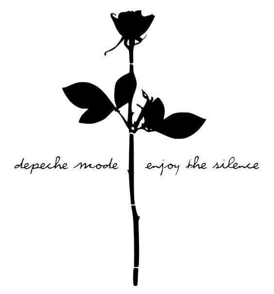 enjoy the silence tattoo - photo #16