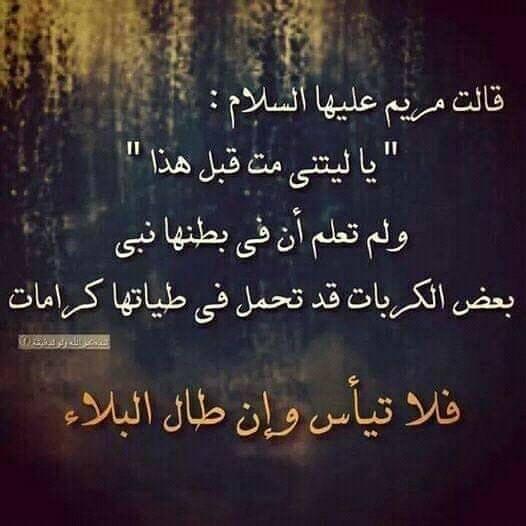 قالت مريم عليها السلام ي ا ل ي ت ن ي م ت ق ب ل ه ذ ا Islamic Quotes Quran Islamic Information Chalkboard Quote Art