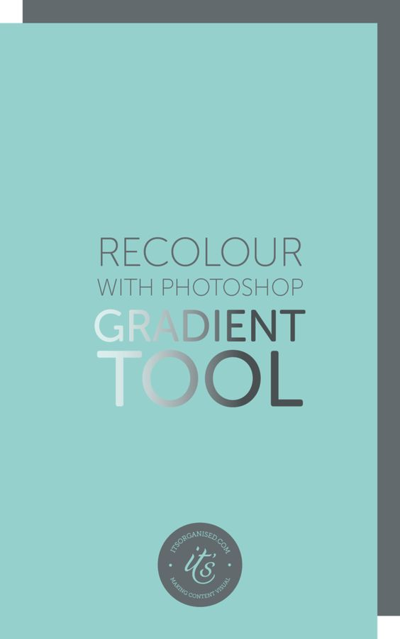 The Gradient Tool in Photoshop is a great way to add your brand colours to overlays and blog graphics. If you are new to Photoshop, this video tutorial will walk you step-by-step through using the Gradient Tool. There is a free Quote PNG Overlay available to practice on too.