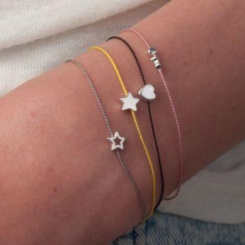 I love these tiny bracelets