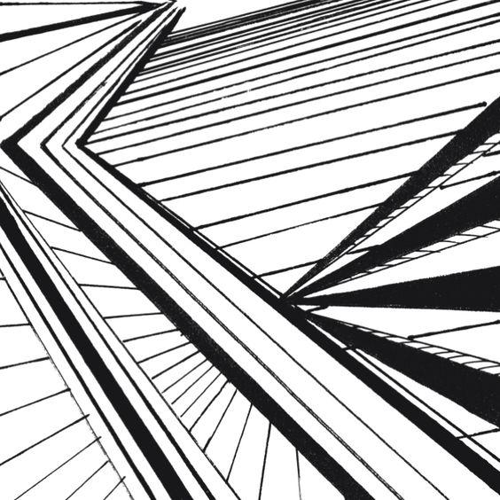 Diagonal lines in Art