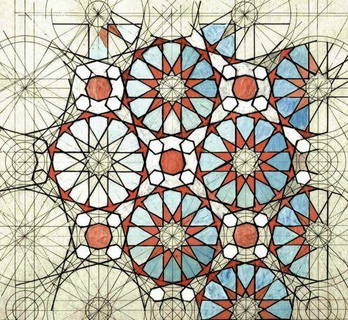 Finally The Golden Ratio Gets Its Own Coloring Book Geometry Art Islamic Art Geometric Art