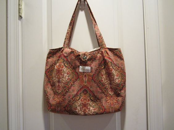 Purse Tote Messenger Bag Overnight Bag Pouch by BristowTreasures, $35.00