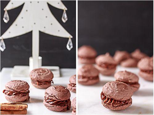 Amalie loves Denmark Macarons mit Milchschokolade und Zimt