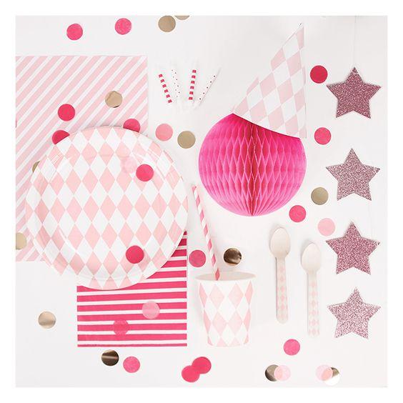 le kit anniversaire rose