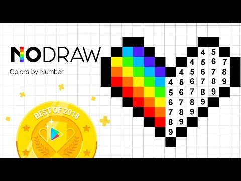 How To Complete A Pixel Dabbing Unicorn In 30 Sec No Draw Color By Number Art Games Youtube Game Art Pixel Coloring Apps