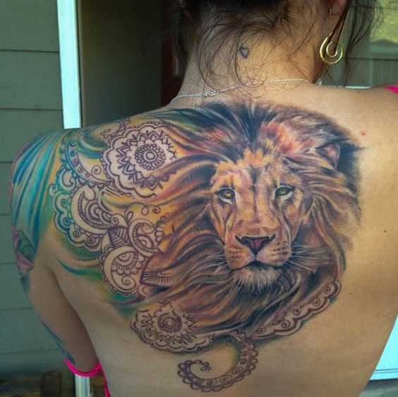 37 Awesome Leo Tattoos For Girls: Gallery Of Lion Tattoo Designs