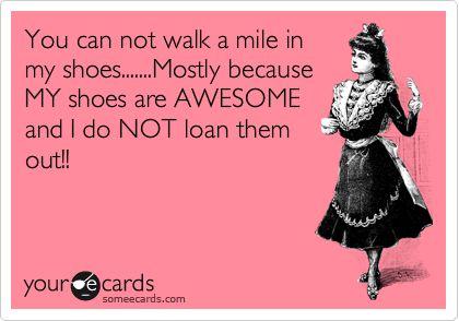 <3 shoes.