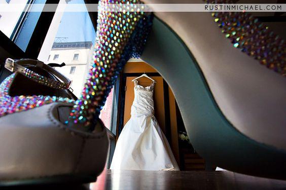 Lovella Bridal bride in Ines Di Santo wedding dress