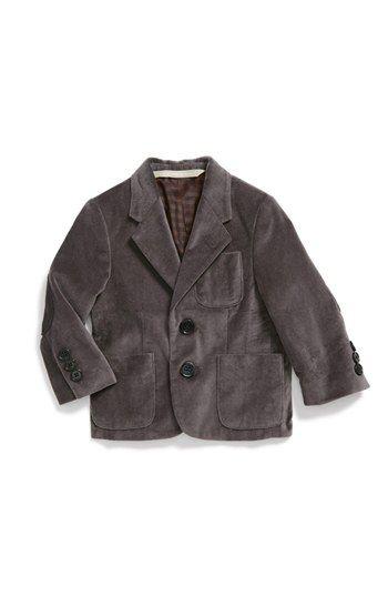 Nordstrom 'Austin' Velvet Blazer (Baby Boys) available at #Nordstrom