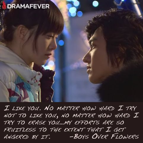 Explore K Drama Quotes, Boys Over Flowers Quotes, and more!