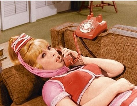 who played jeannie in i dream of jeannie