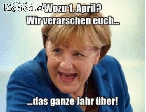 Angela Merkel verarscht uns: