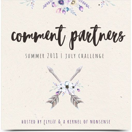 I'm participating in the Summer 2018 Comment Challenge!!