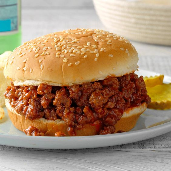 You'll love this quick, easy and economical homemade sloppy joe recipe. Brown sugar adds a touch of sweetness, both for traditional sandwiches on buns or as a down-home topping for rice, biscuits or baked potatoes. —Laurie Hauser, Rochester, New York