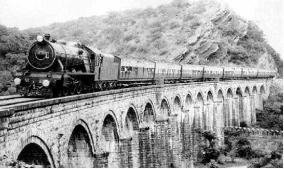 Old Indian Train